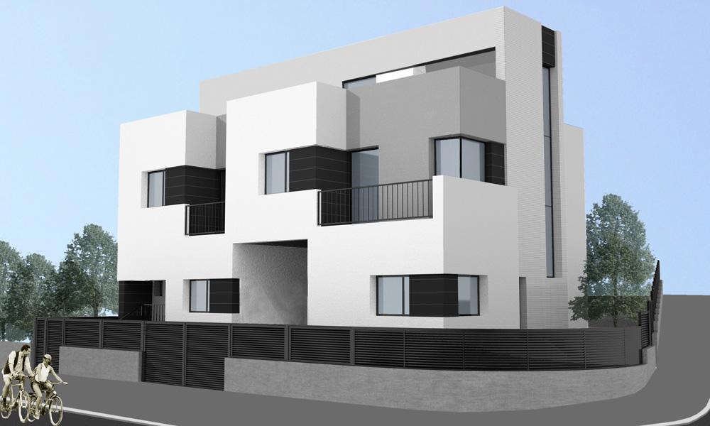 Dga arquitectura for Casas modernas unifamiliares